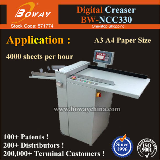 China Manufacturer Factory Ad Office Ncc330 Perforating Creasing Machine pictures & photos