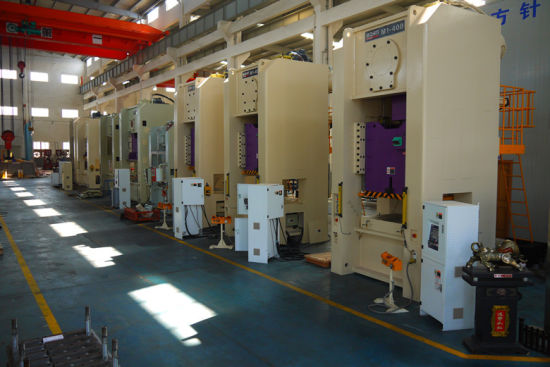 400 Ton Single Crank Straight Side Power Press Machine