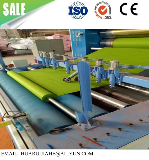 Cotton Wool Roll Making Machine Quilt Making and Cutting Machine Mattress Roll-Packing Machine/ Nonwoven Slitting Winding Machine for Nonwoven Carpet