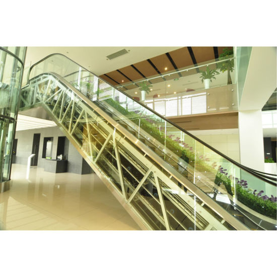 Commercial Escalator with 30 Degree 1000mm Step Width Vvvf Control pictures & photos