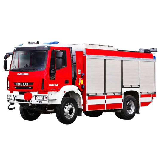 Aluminum Alloy Roller Door for Emergency Rescue Trucks