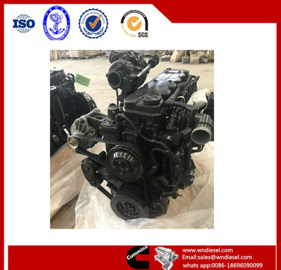 Brand New Water Cooling Cummins Construction Machinery Diesel Engine Motor Qsb6.7-C205