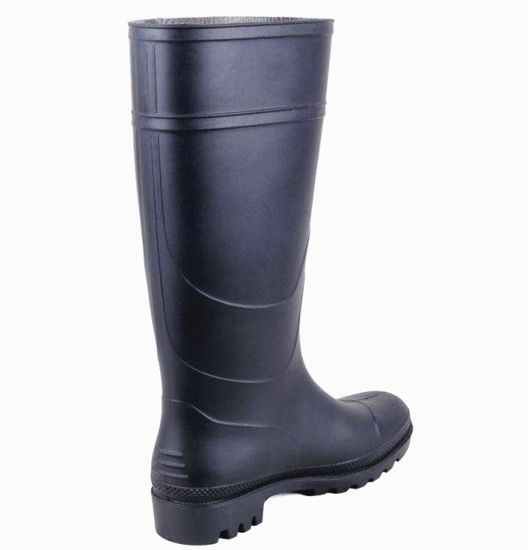 Long Rain Boots Rubber Gumboots Safety Shoes