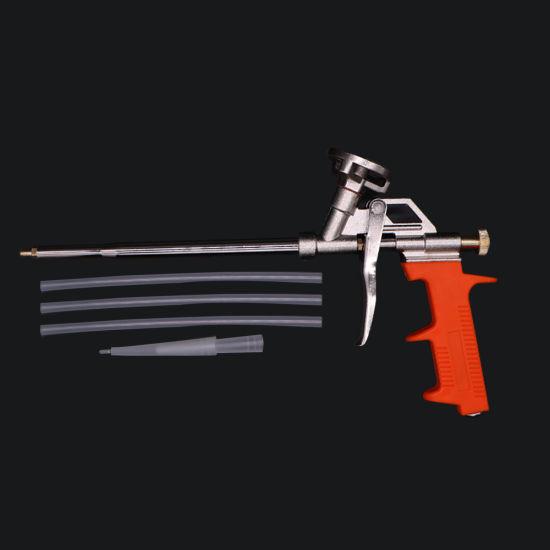 Zinc Alloy PU Polyurethane Foam Dart Spray Gun