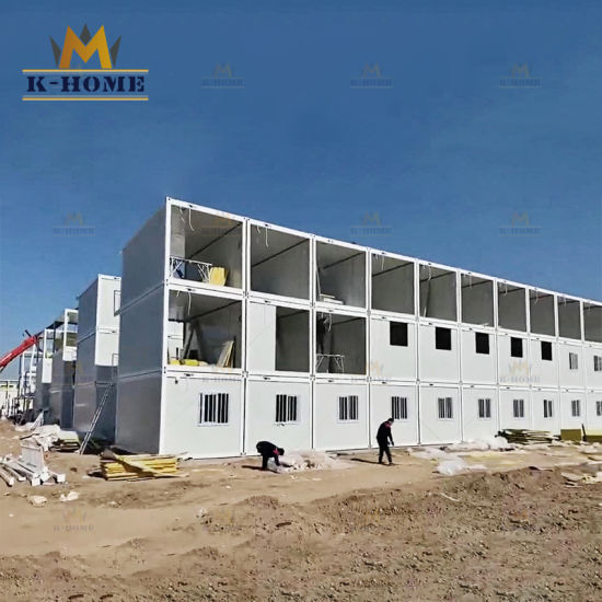 Modular Prefab Container Metal House for Dormitory