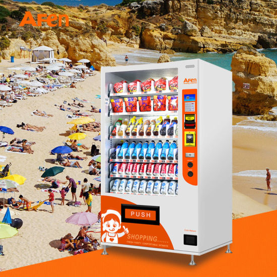 Afen Best Sellingsnacks and Drinks Vending Machine with Competitive Price