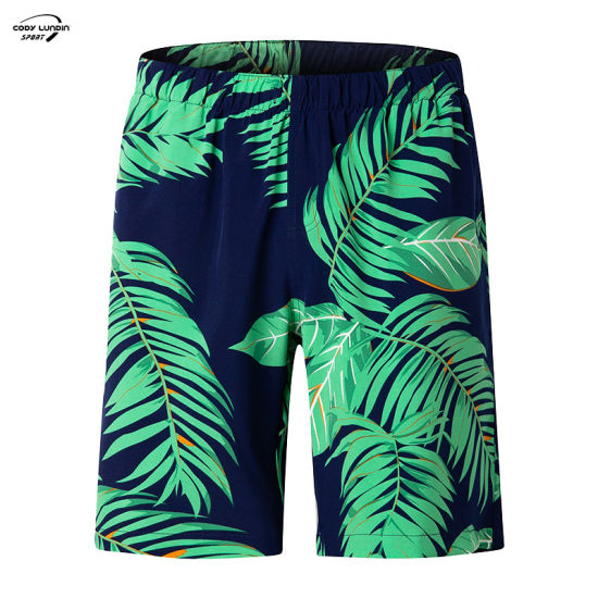 Cody Lundin 100% Cotton Casual Solid High Quality Leisure Breathable Summer Beach Men's Shorts