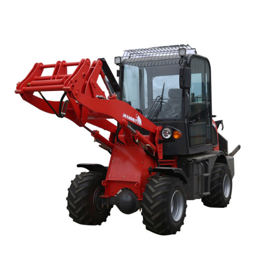 Chinese Eougem Zl08 Wheel Loader with Torque Converter