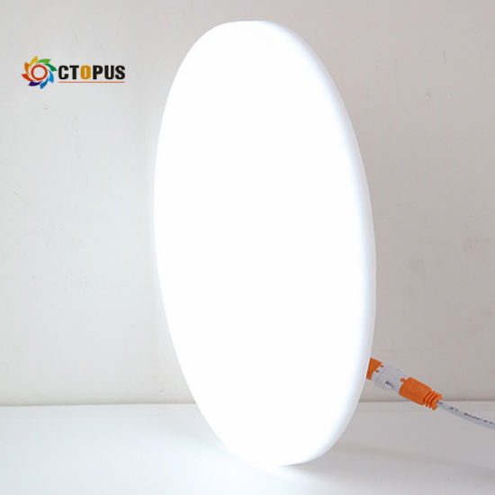 Factory Price 18W Round Recessed Frameless LED Panel Light