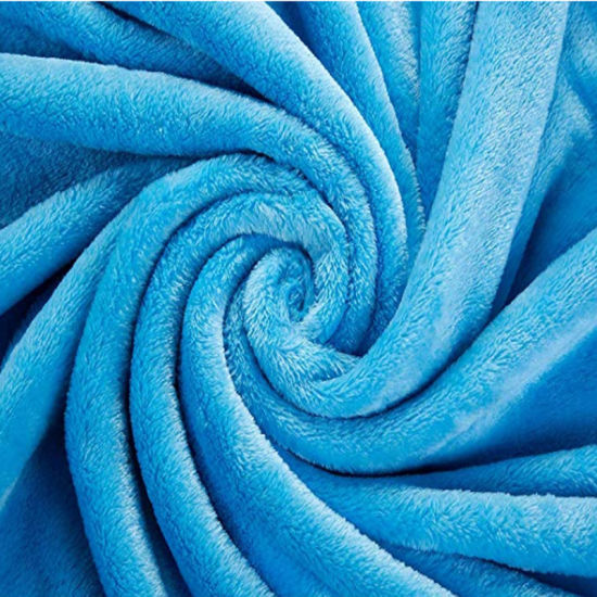 c37fb3e6d5 China Manufacture Mink Blanket Twin Size Blue Plush Throw Mexican Blanket