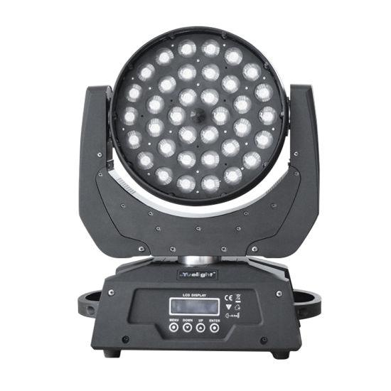 LED 36PCS*12W Moving Head Stage Light Mini Moving Head Manual