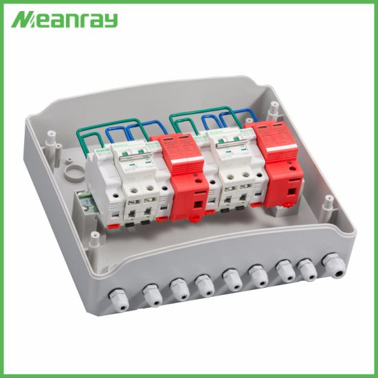 Economical Type 2 in 2 out 2 Way Inputs Combiner Box for Home System