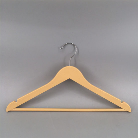 Plastic Hanger with Down Press for Shop Cloth Display pictures & photos