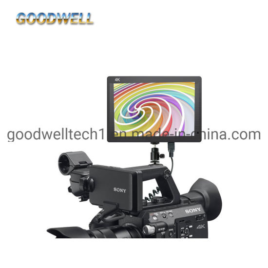 1920X1200 on Camera Mount LCD Screen Display HDMI Input & Output 7 Inch LCD Monitor