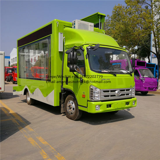 Foton Outdoor Truck Mobile Advertising LED Display for Sale pictures & photos