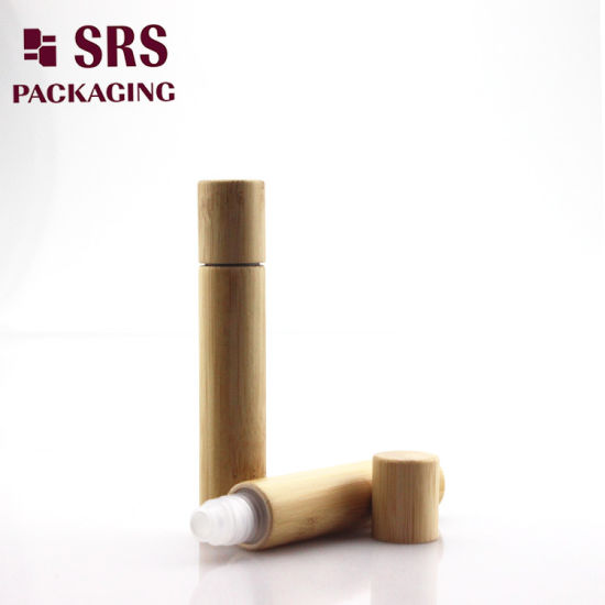 China Hot Sale 8ml Roll on Bamboo Lotion Bottle with PP Ball
