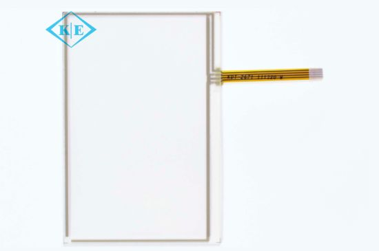 "4-Wire 4"" Resistive Touch Screen Panel for Industrial Use"