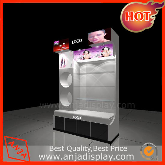 Wooden Cosmetic Display Stand Unit for Retail Store pictures & photos
