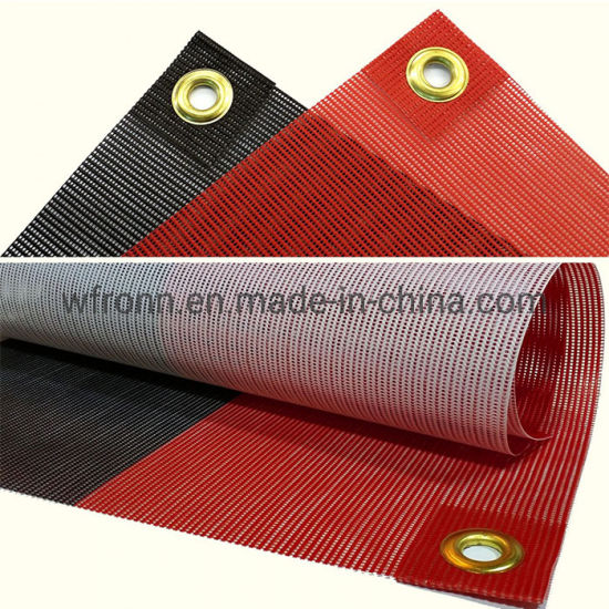 Wholesale High Quality All Size Custom Mesh Flag pictures & photos