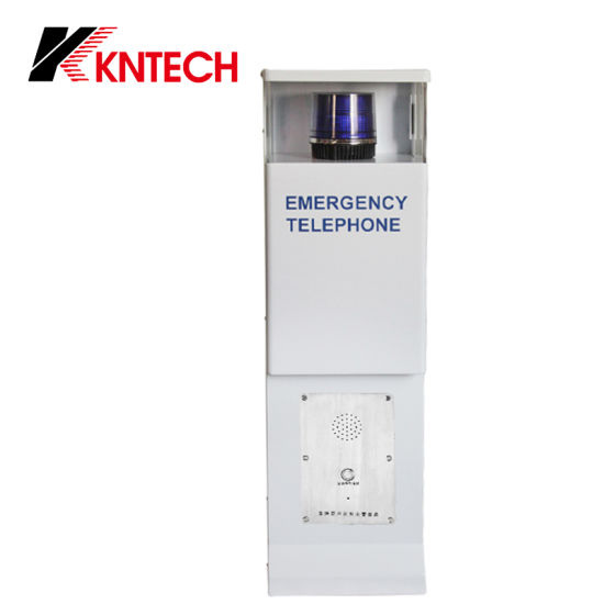 Speed Dial Emergency Telephone Tower Knem-25 Blue Light Call Station pictures & photos