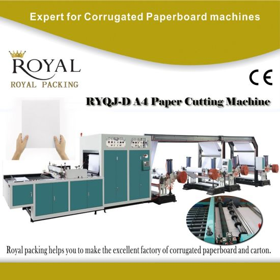 High Quality A4 Paper Cutting Machine with Ce Cetificate pictures & photos