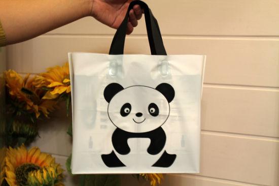 Custom Logo Grocery Plastic Fresh Vegetable Packaging Bag for Shops