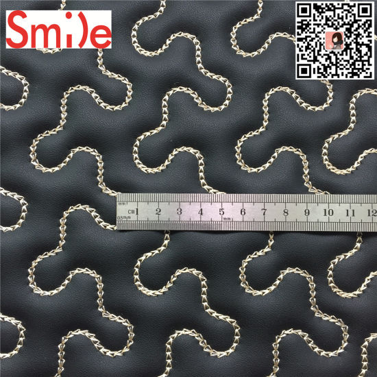 Car Mat Material PVC Leather for Car Interior Embroidery Non Woven XPE Foam pictures & photos