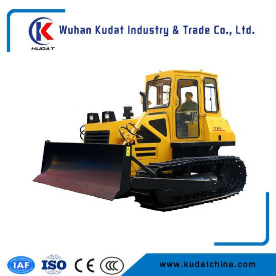 China 13000kg Crawler Bulldozer with Electronic Monitor