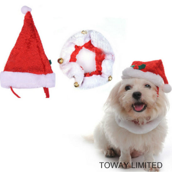 Christmas Holloween Dog Products Holiday Hair Scarf Pet Accessories