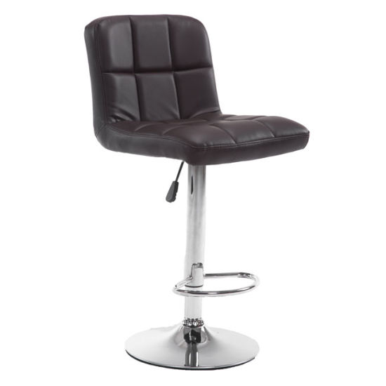 Modern Swivel Adjustable Hydraulic Leather Coffee Barber Chairs Bar Stools