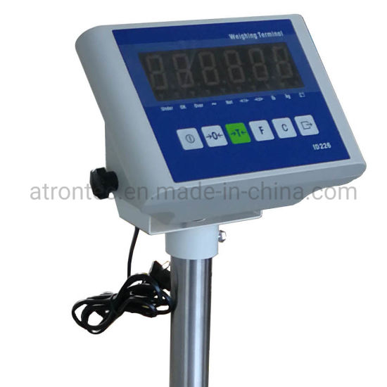 Plastic Housing Red LED Display Weight Indicator