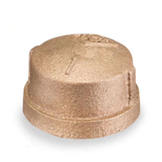UL Approval Threaded Pipe Fitting Bronze Cap
