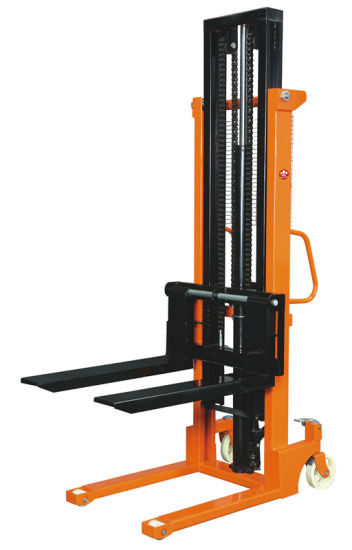 1000kg / Lifting Height 3m Hand Manual Stacker pictures & photos