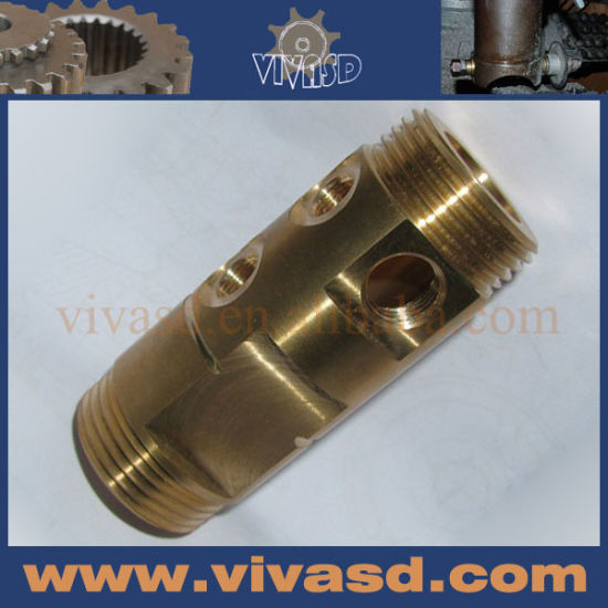 CNC Turning Parts Sanitary Fitting CNC Machining Service pictures & photos