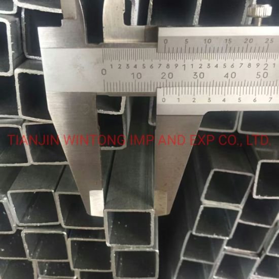 High Standard Pre-Galvanized Square Steel Welded Tube Pipe for Modern Greenhouse