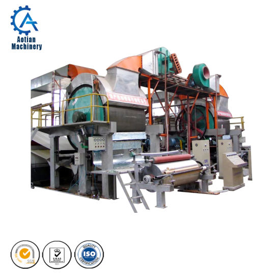 Tissue Paper Making Plant Fourdrinier Paper Machine pictures & photos