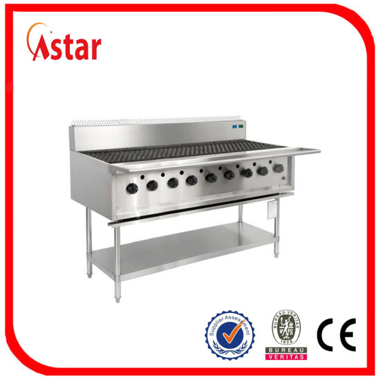 Gas Grill With 9 Burner Commercial Grill For Sale