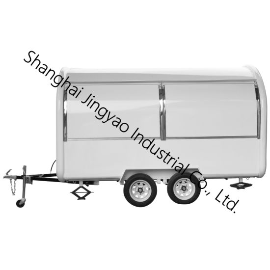 Mobile Hot Dog Carts for Sale/Towable Food Trailer for Sale/Mobile Food Display Food Cart