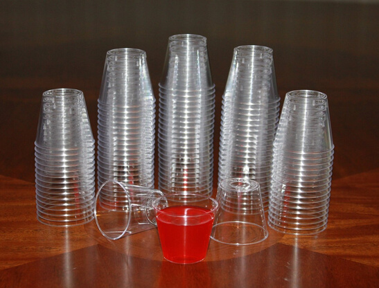 Plastic Shot Glass, Small Tasting Glass 1oz pictures & photos