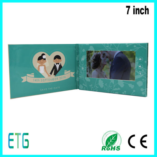 Wedding Invitation Card With Video And Usb For Best Sale