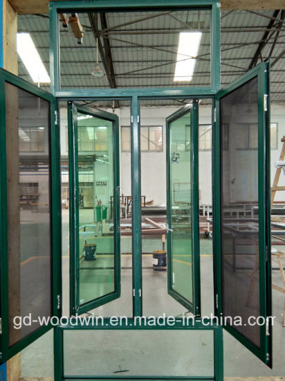 Foshan High Quality Thermal Break Aluminum Casement Window with Fly Screen pictures & photos