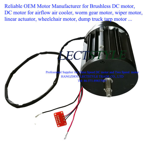 China Three Speed Brushless DC Air Exhaust Motor on Train Roof and