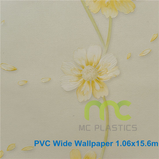 Decorative PVC Vinyl Wallpaper, New design pictures & photos