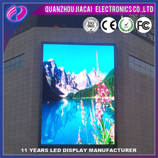 P10 Full Color LED Advertising Display for Shopping Mall