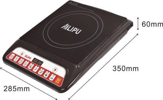 Push Button 220V Induction Cooker Countertop Style pictures & photos