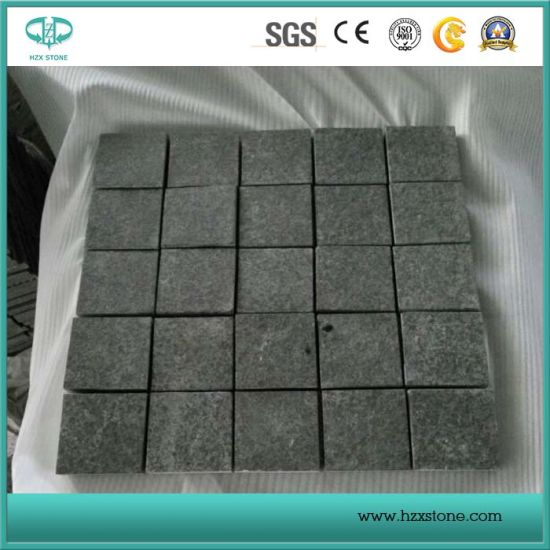 G684 Basalt, Black Basalt, Dark Granite for Paving Stone/Cubestone/Cobble Stone pictures & photos