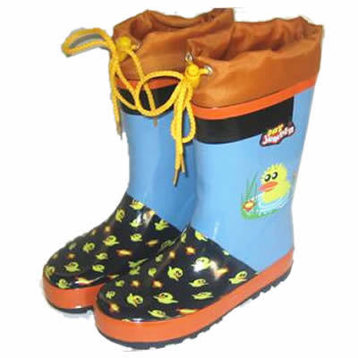 Customized Kids Rubber Rain Shoes