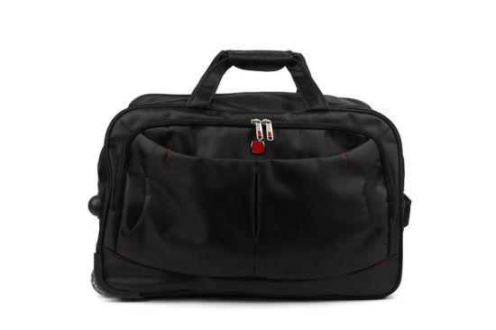 Fashion Leisure Promotional Luggage Travel Handbag Tote Trolley Bag for Travelling
