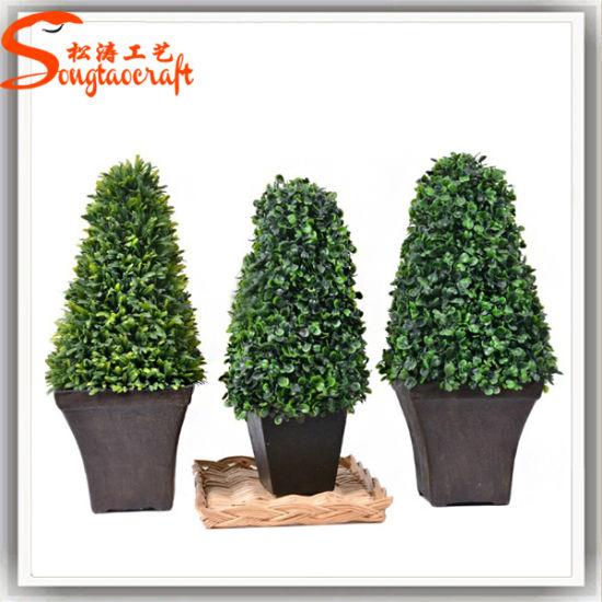 China Artificial Garden Grass Buxus Balls Boxwood Topiary Trees