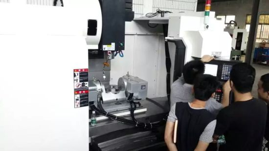 2017 New Developed Popular 5 Axis 4 Sincrounous CNC Machining Center, CNC Milling Machine pictures & photos